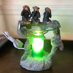 Electric Aroma Warmer 3 Monkeys 🐒🐒🐒 in the 🌲